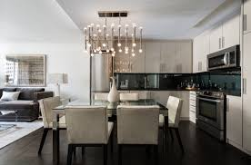 Hanging Lights For Kitchen by 3 Approaches To Choosing Wall Color For A Mixed Materials Kitchen