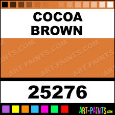 cocoa brown window color paint set stained glass and window paints