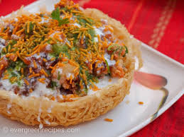 indian chaat cuisine potato basket chaat indian chaat recipes