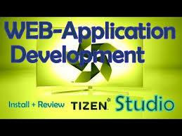 tizen studio web application development tools native
