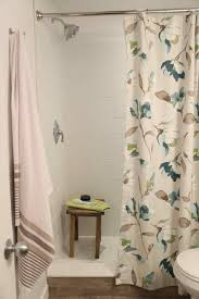 bathroom shower curtains ideas interiors guest guest bathroom shower curtain bathroom refresh