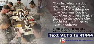 thunderclap thanksgiving for homeless vets