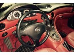 red maserati spyder 2003 maserati spyder for sale classiccars com cc 1047336