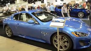 blue maserati 2014 maserati granturismo sport coupe in sky blue youtube