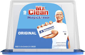 can you use magic eraser on cabinets mr clean magic eraser original cleaning pads with durafoam 9 count