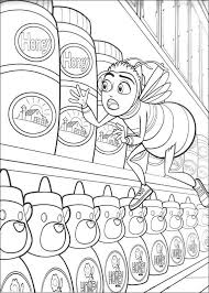 bee movie coloring pages kids 27