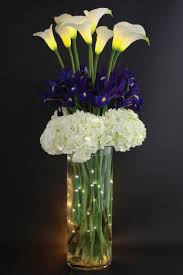 flower arrangements with lights lighted floral arrangements electric led flower arrangement lighting