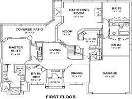 patio ideas house plans patio homes craftsman house plan oakley