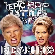 Rap Battle Meme - donald trump vs hillary clinton rap meanings epic rap battles of