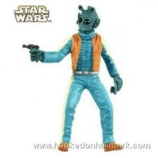 2009 greedo wars new limited edition hallmark keepsake
