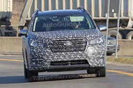 New Subaru 7 Seater Subaru U0027s New Three Row Crossover Spied Testing Autoguide Com News