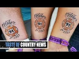 route 91 survivor tattoos are heartbreaking perfect youtube