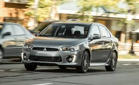 mitsubishi mitsubishi 2017 mitsubishi lancer awd tested u2013 review u2013 car and driver