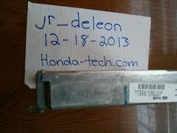 2003 acura cl type s manual ecu 37820 pge a12 honda tech honda