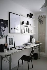 bureau noir et blanc deco noir et blanc with deco noir et blanc best tableau