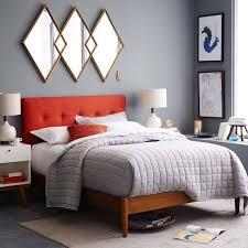 Bedroom  Beautiful Nicole Miller Bedding In Bedroom Midcentury - Amazing mid century bedroom furniture home