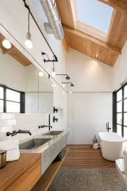 simple modern double shower bathroom designs on small home remodel