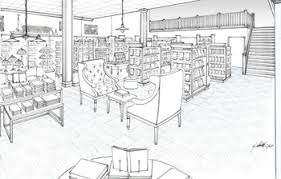 bookstore design floor plan new bookstore with starbucks and community meeting space planned