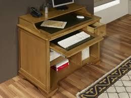 bureau informatique bois massif petit bureau informatique en chêne de style louis philippe meuble