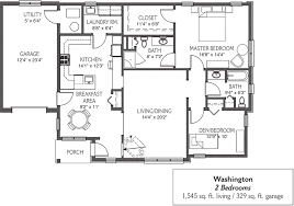 garage floor plan retirement cottages in mechanicsburg pa messiah