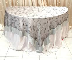 silver lace table overlay silver overlay tablecloth swirl overlay table cover silver silver