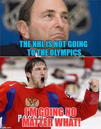 Ovechkin Meme - bettman vs ovechkin imgflip