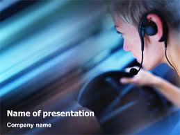 driving safety free powerpoint template backgrounds 01967