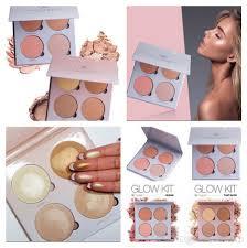 anas glow kit sweet highlighters palette powder blusher bronzer