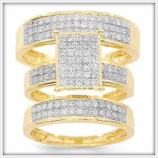 gold wedding rings sets gold wedding ring sets for women