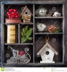christmas decorations set antique clocks birdhouse santa u0027s