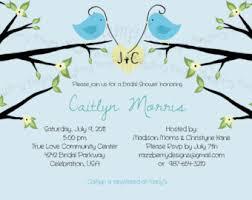 Love Bird Wedding Invitations Bird Bridal Shower Invitation Love Bird Bridal Shower Invite