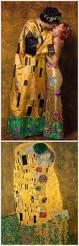 where did the halloween mask come from recreation of gustav klimt u0027s painting