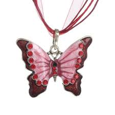 butterfly jewelry necklace images Vintage butterfly jewelry necklace club factory jpg