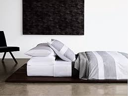 Design Calvin Klein Bedding Ideas Pinstripe Pucker Charcoal Artisan Collection Calvin Klein