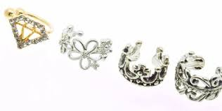 ear cuffs for pierced ears cheap silver ear cuffs for pierced ears find silver ear cuffs for