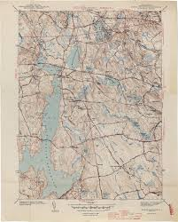 Massachusetts Town Map by