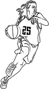 basketball coloring pages nba the greatest nba coloring page color luna