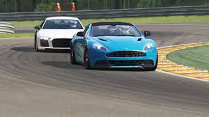 lexus lc vs audi r8 battle audi r8 v10 plus vs aston martin vanquish v12 racing at spa
