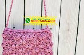 cara akhir membuat tas dari tali kur cara membuat tas dari tali kur yang ada tutupnya 0896 7465 4330