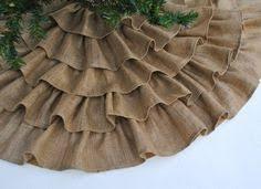 burlap christmas tree skirt no sew tree skirt tutorial uncommon designs burlap tree skirt
