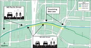 Seattle Times Traffic Flow Map by City Light Project Will Close Burke Gilman Trail From U Bridge To