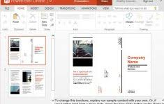 trifold brochure template word csoforum info