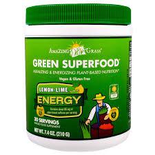 amazing grass green superfood energy lemon lime 7 4 oz 210 g
