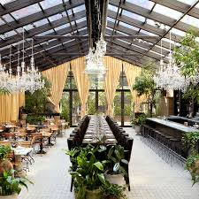 Restaurants Near Botanical Gardens Outdoor Affordable Restaurants With A View Nyc Outdoor