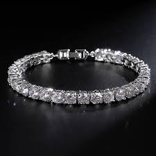 classic diamond bracelet images Classic rome charm tennis bracelet jpg