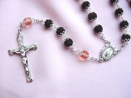 petal rosary bead projects beading with hye on