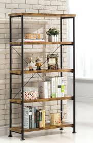 Metal Bookcase With Glass Doors Metal Bookcase Zivile Info