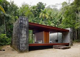 casa rio bonito a modern cabin in the brazilian rainforest