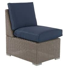 Patio Sectionals Clearance by Heatherstone Wicker Patio Sectional Armless Chair Threshold