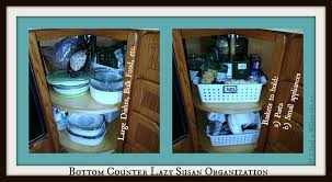 how to organize a lazy susan cabinet lazy susan kitchen cabinet organization tips tricks on